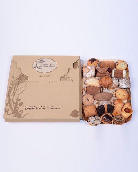 Immagine di Biscotti artigianali in Vassoio da 500 gr