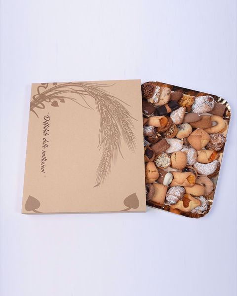 Immagine di Biscotti artigianali in Vassoio da  1 kg