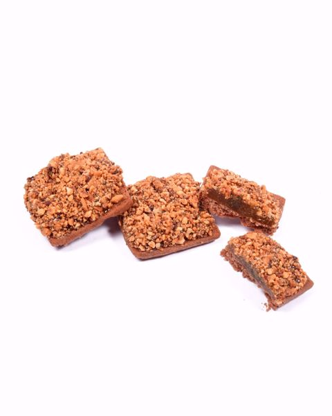 Immagine di Biscotti alla Mela Cotogna ricoperti di Granella di Mandorle kg. 2